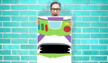Toy Story Buzz Lightyear Art - Wall Art Print Poster Pick A Size -  Cartoon Art Geekery